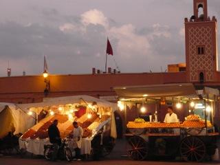 Plaza Jama El Fnaa de Marrakech