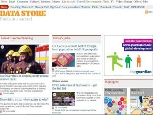 El Datablog del diario británico The Guardian