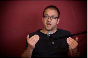 Joan Soler, director de l'Arxiu Històric de Terrassa. (Font: CCCB. Miquel Taverna)